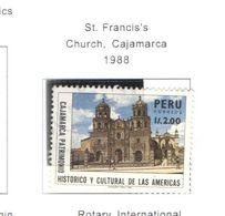 Perù PO 1988 Chiesa Cajamarca Scott.927 Used See Scans On Scott.Pages - Peru