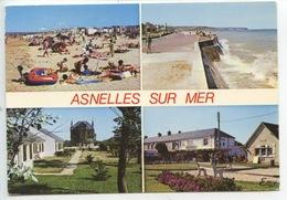 Asnelles Sur Mer : Place Alex Stanier Les Tourelles La Plage (n°2058) - France