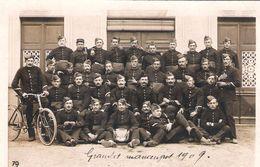 Carte Photo Grandes Manoeuvres 1909 - Guerre 1914-18