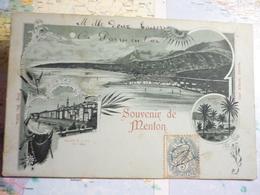 Souvenir De Menton - Menton