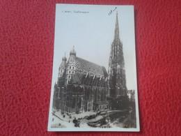 POSTAL POST CARD POSTCARD CARTE POSTALE WIEN VIENA AUSTRIA Österreich STEFANSDOM VER FOTO/S Y DESCRIPCIÓN. IDEAL COLECCI - Otros