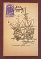 Niederlande 1992  Mi.Nr. 1442 , EUROPA  CEPT  Entdeckung Von Amerika - Maximum Card - Stempel Gravenhage 12.V.92 - Europa-CEPT