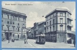 Marino Laziale - Piazza XXVIII  Ottobre  -Tram - Roma