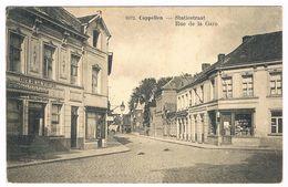 Cappellen (Kapellen) - Statiestraat 1924  (Geanimeerd) - Kapellen