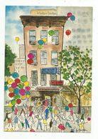 Cp , Hôtels & Restaurants , Restaurant Français TOUT VA BIEN , Etats Unis , New York , Illustrateuer G. Huston , Vierge - Hotels & Restaurants