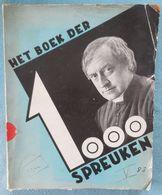01 - Het Boek Der 1000 Spreuken - Cyriel Verschaeve - 1934 - History