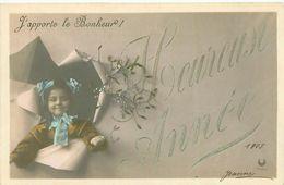 Heureuse Année , Enfants   ,j 'apporte Le Bonheur            S984 - Nouvel An