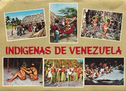 INDIGENAS DE VENEZUELA. INTANA. ETHNICS FOLK FOLKLORE PEOPLE MULTI VIEW-TBE-BLEUP - Amerika