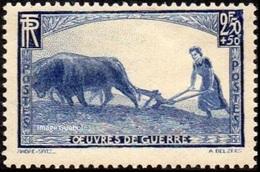 France - N°  457 * Pour Les Oeuvres De Guerre - Femme Au Labour - Frankreich