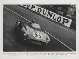 24 Heures Du Mans Panhard Monopole Hémard Flahaut Dunlop - Automobile - F1