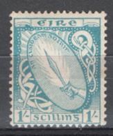 Irlanda 1922 Unif. 51 */MH VF/F - 1922-37 Stato Libero D'Irlanda
