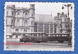 Photo Ancienne Snapshot - SAINT GERMAIN En LAYE - Bel Autobus à Identifier Devant Le Château - Autocar - Automobile