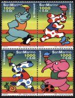 SAN MARINO, 2000, SIDNEY, OLYMPICS, YV#1686-89, MNH - Sommer 2000: Sydney - Paralympics