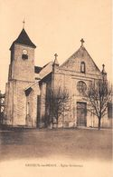 Nanteuil Lès Meaux église - France