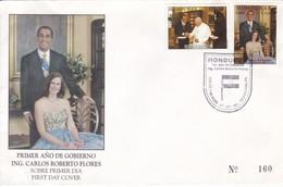 FDC. PRIMER AÑO DE GOBIERNO, ING CARLOS ROBERTO FLORES. HONDURAS-TBE-BLEUP - Honduras