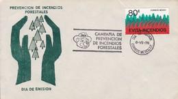 FDC. PREVENCION DE INCENDIOS FORESTALES. MEXICO-TBE-BLEUP - Mexico