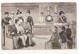 WWI - EUROPEAN COURT SENTENCES AGAINST TURKEY AUSTRIA GERMANY - CRIME MENTAL HOSPITAL ( 455 ) - Guerra 1914-18