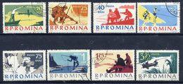 ROMANIA 1962 Sport Fishing Used.  Michel 2078-85 - 1948-.... Republics