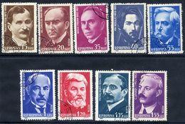 ROMANIA 1962 Scientists Used.  Michel 2069-77 - 1948-.... Republics