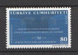 Turkey 2009, European Council 2v Mnh - 1921-... República