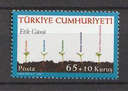 Turkey 2009, Ethics Days 1v Mnh - 1921-... República