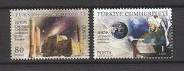 Turkey 2009, Europa, Astronomy 2v Mnh - 1921-... República