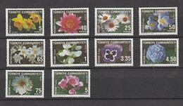 Turkey 2009, Flowers 8v Mnh (excepte V 75 Kurus / 5 Lira) - 1921-... República