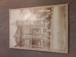 ORIGINELE FOTO AFMETINGEN 13cm Op 18cm REU DE LA POST HAL - Halle