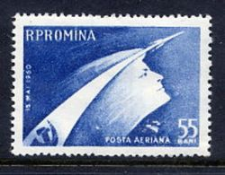 ROMANIA 1960 Vostock Soviet Space Flight MNH / **.  Michel 1899 - Unused Stamps