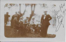 Cpa Photographie -de Mouflers -SOMME- 14 Juin 14-famille - Photographie