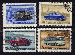 URSS - 2337/2340° - INDUSTRIE AUTOMOBILE - 1923-1991 URSS