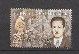 Turkey 2009, Precedent Humanity (1) Mnh - 1921-... República