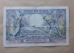Belgium 10000 Francs 1938 - [ 2] 1831-... : Belgian Kingdom