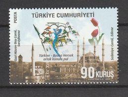 Turkey 2009, Bosnia-Fort-Castle (1) Mnh - 1921-... República