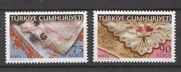 Turkey 2009, Art-Embroidery (2) Mnh - 1921-... República