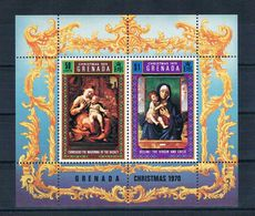 Grenada 1970 Madonna Block 12 ** - Grenada (1974-...)