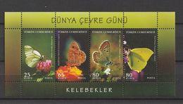 Turkey 2009, Environ.Day-B'flies M.S. Mnh - 1921-... República