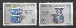 Turkey 2009, Portugal-Ceramics (2) Mnh - 1921-... República