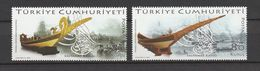 Turkey 2009, Sultans Boats (2) Mnh - 1921-... República