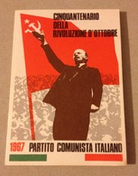 TESSERA VECCHIO PARTITO COMUNISTA 1967 - Vecchi Documenti