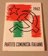 TESSERA VECCHIO PARTITO COMUNISTA 1962 - Vecchi Documenti