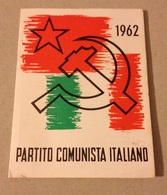 TESSERA VECCHIO PARTITO COMUNISTA 1962 - Vieux Papiers