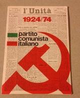 TESSERA VECCHIO PARTITO COMUNISTA 1974 - Vecchi Documenti