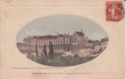 CPA -  THOUARS - Vue  Du Château Prise De La Basse Ville - Thouars
