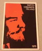 TESSERA VECCHIO PARTITO COMUNISTA 1970 - Vecchi Documenti