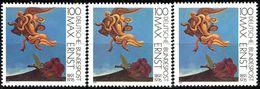 A12-16-5) BRD - 3x Michel 1569 - ** Postfrisch (A) - 100Pf      Gemälde Max Ernst - [7] République Fédérale