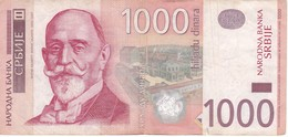 BILLETE DE SERBIA DE 1000 DINARA DEL AÑO 2006 (BANKNOTE) - Serbia