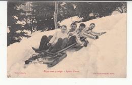 39 - Morez - Sports D'hiver - Bobsleigh John Bull - Morez