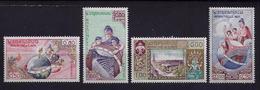 TIMBRES 51 A 54**  Cote 2,25 - Laos