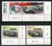 MONACO   2018   Jim Clark   Mercedes   Lotus   Voitures   Car   Coin Daté  06.11.17  07.11.17  13.11.17 - Monaco